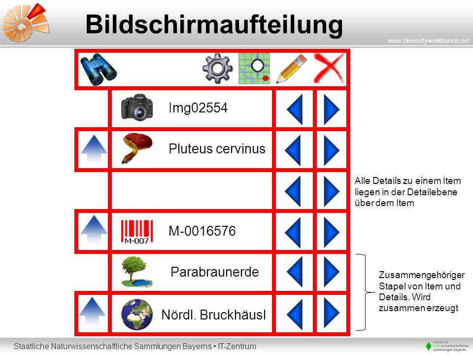 Bildschirmaufteilung