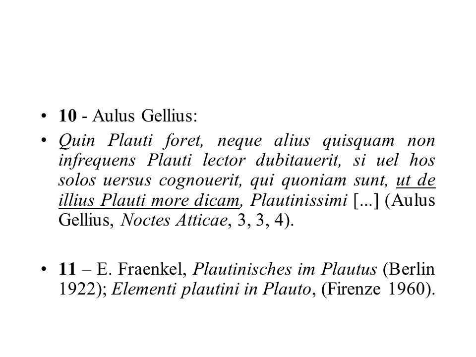 10 - Aulus Gellius: