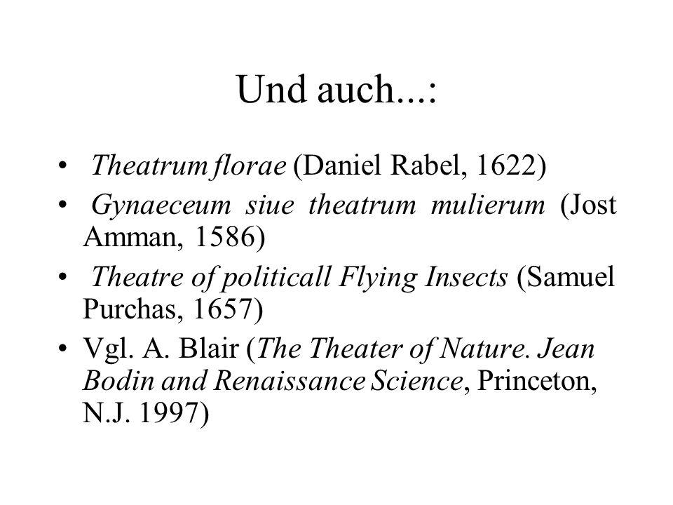 Und auch...: Theatrum florae (Daniel Rabel, 1622)