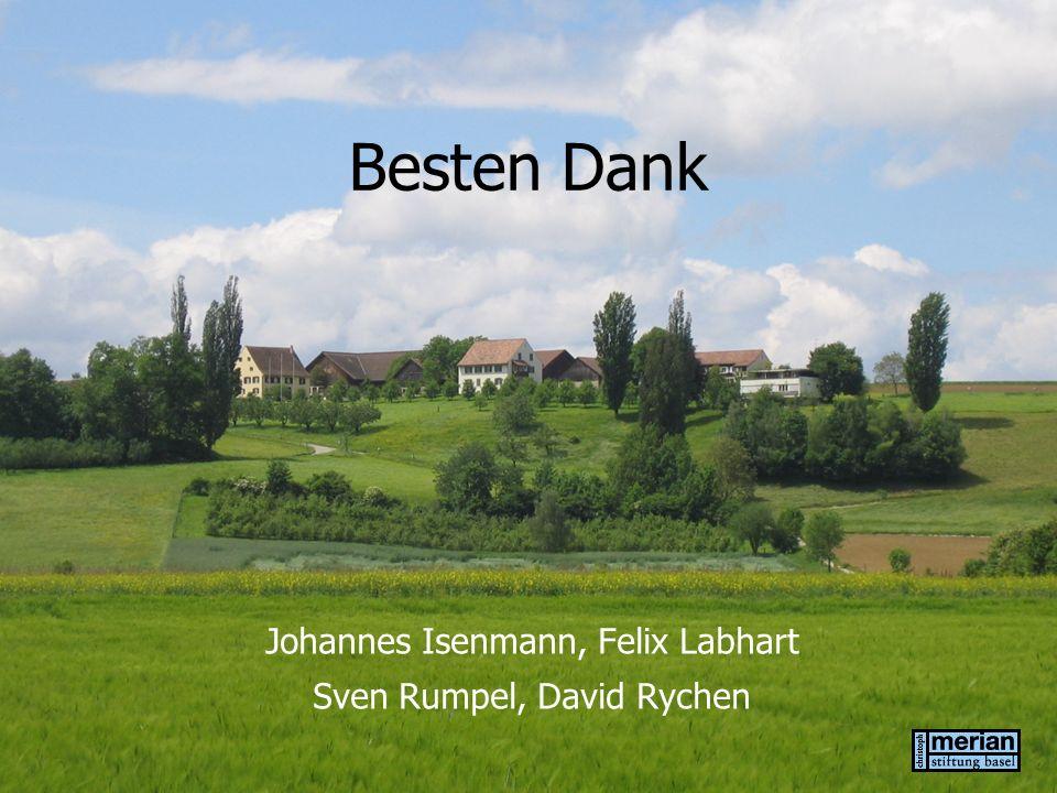 Johannes Isenmann, Felix Labhart Sven Rumpel, David Rychen