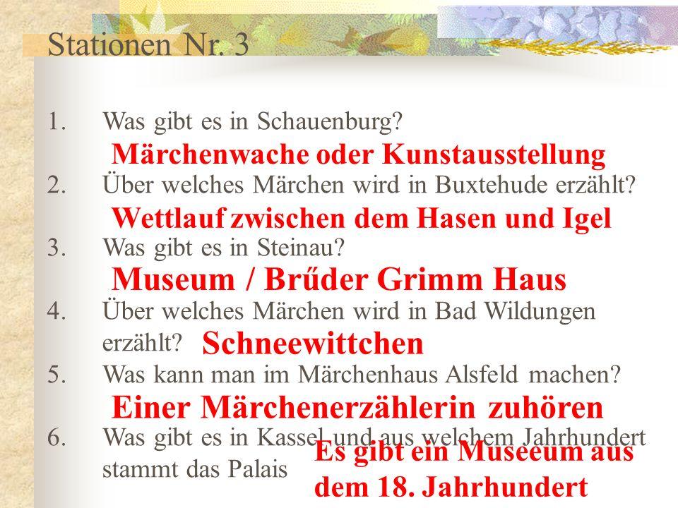 Museum / Brűder Grimm Haus