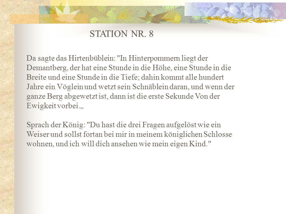 STATION NR. 8