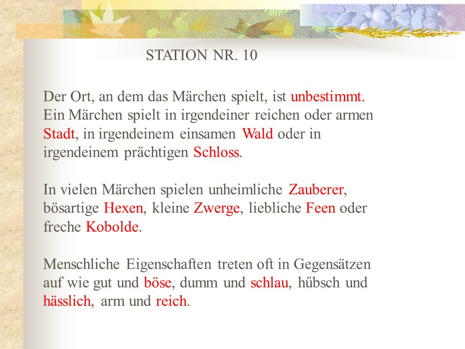 STATION NR. 10