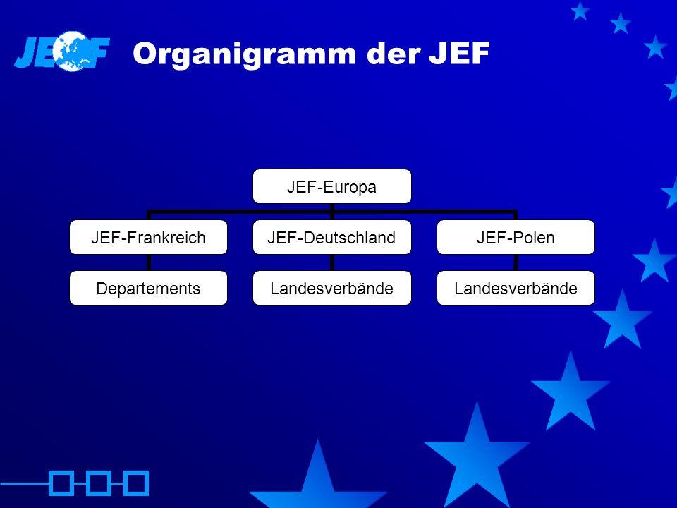 Organigramm der JEF