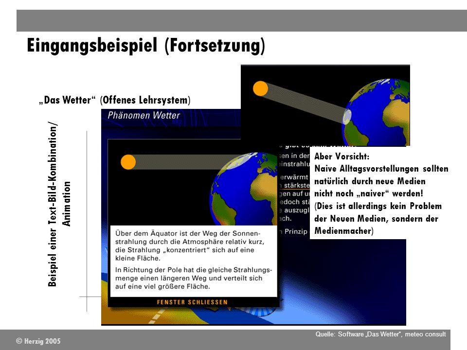 Beispiel einer Text-Bild-Kombination/ Animation