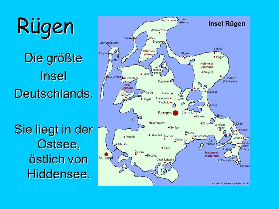 Sie liegt in der Ostsee, östlich von Hiddensee.