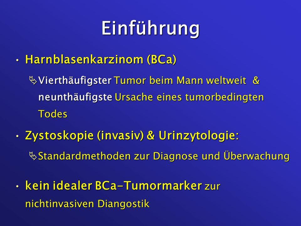 Einführung Harnblasenkarzinom (BCa)