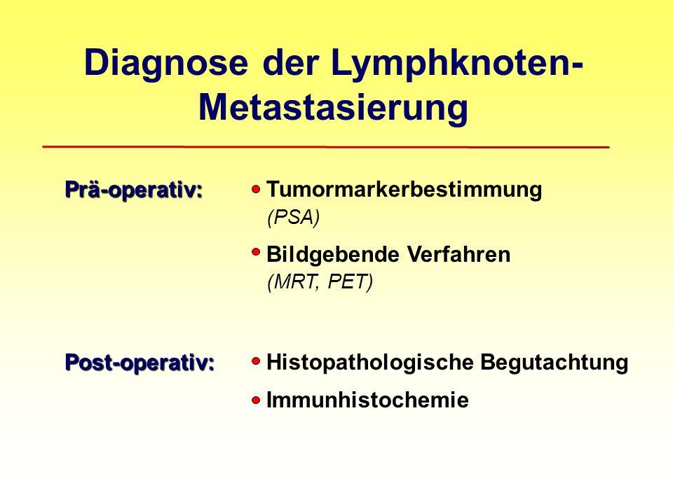 Diagnose der Lymphknoten- Metastasierung