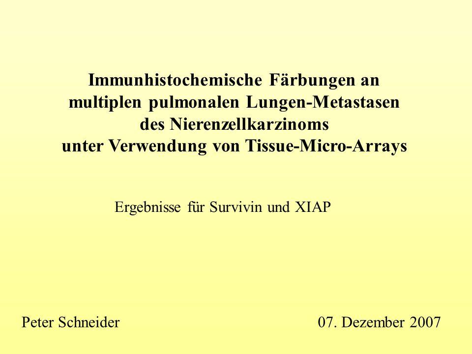 Immunhistochemische Färbungen an