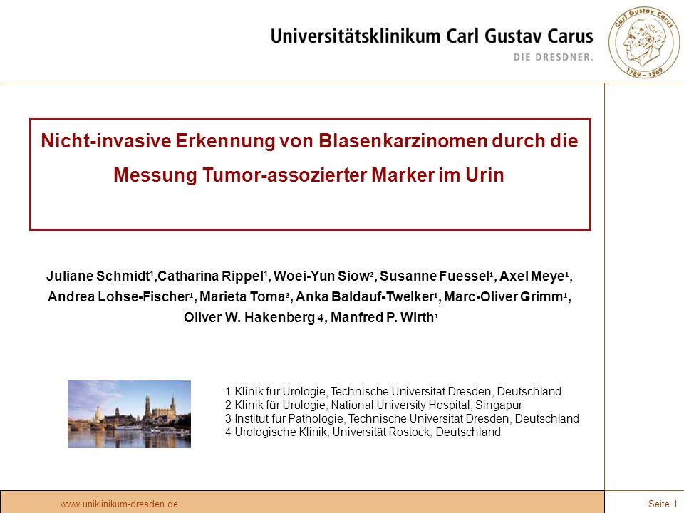 Oliver W. Hakenberg 4, Manfred P. Wirth¹