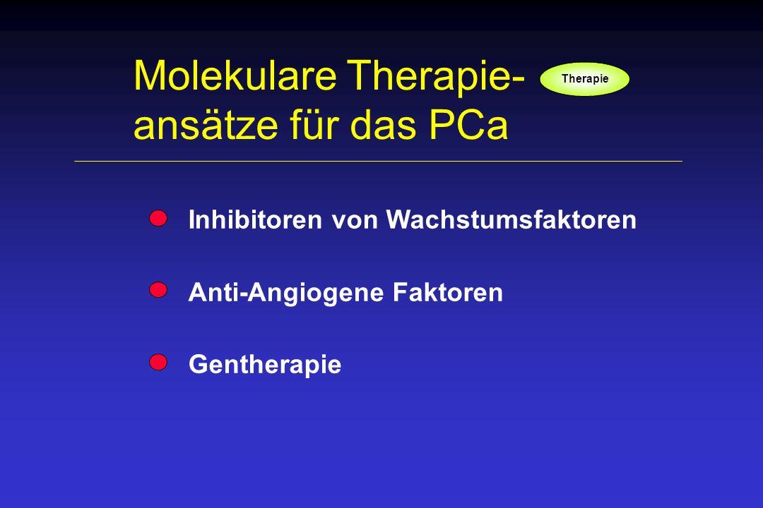 Molekulare Therapie- ansätze für das PCa