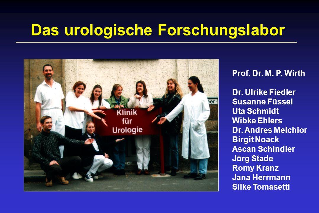 Das urologische Forschungslabor