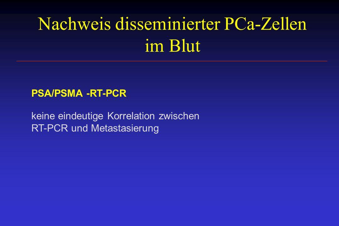 Nachweis disseminierter PCa-Zellen im Blut