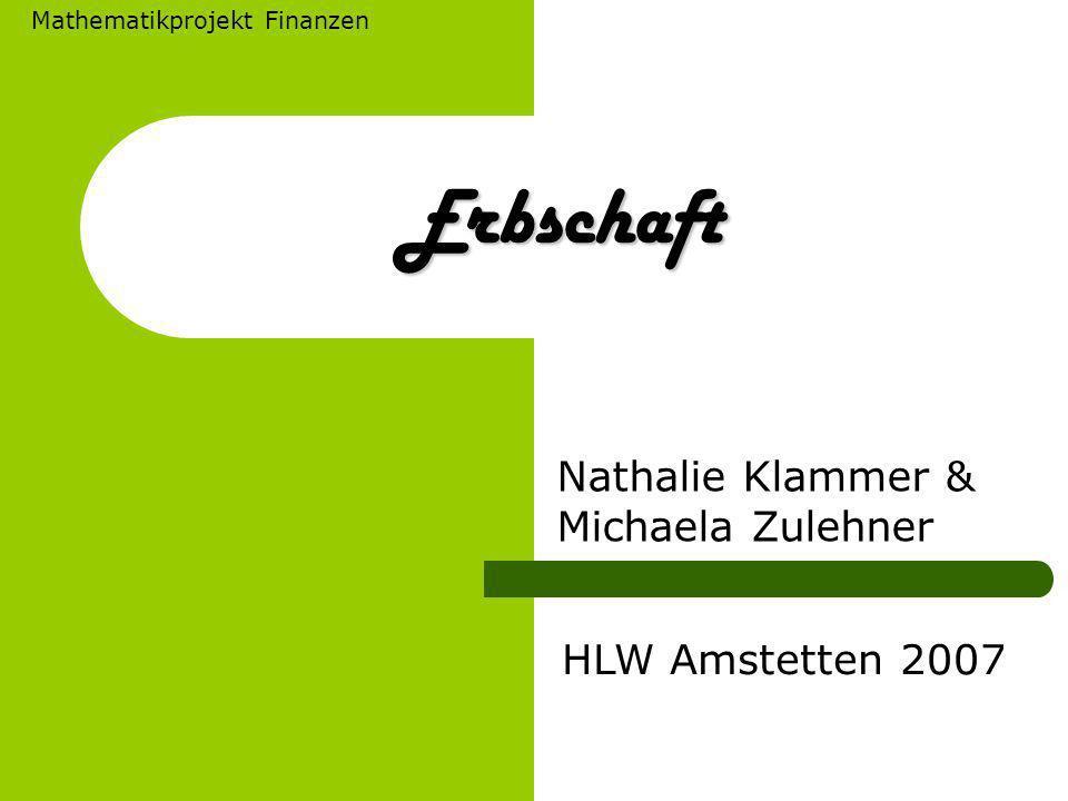 Nathalie Klammer & Michaela Zulehner