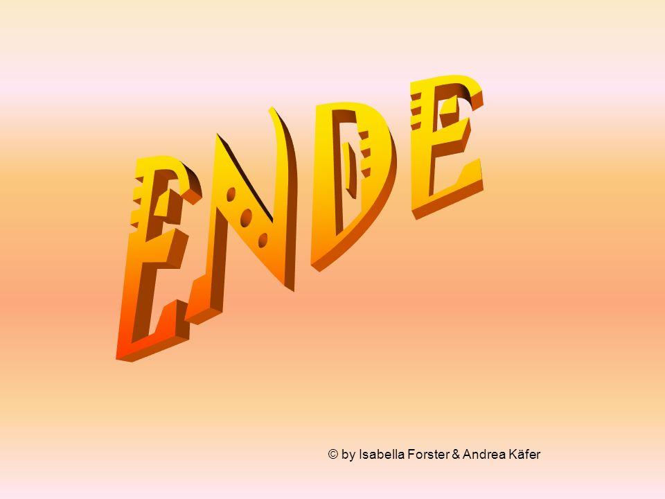 ENDE © by Isabella Forster & Andrea Käfer
