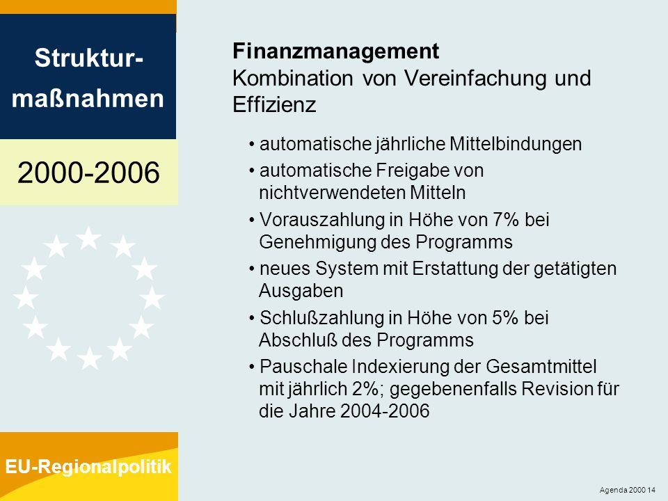 Finanzmanagement Kombination von Vereinfachung und Effizienz