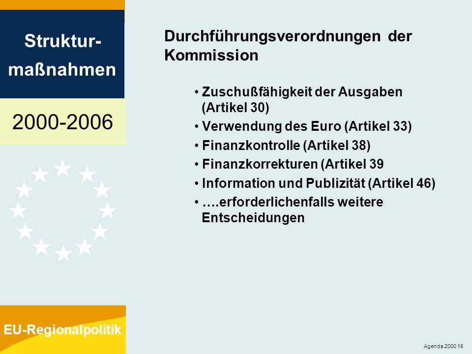 Durchführungsverordnungen der Kommission