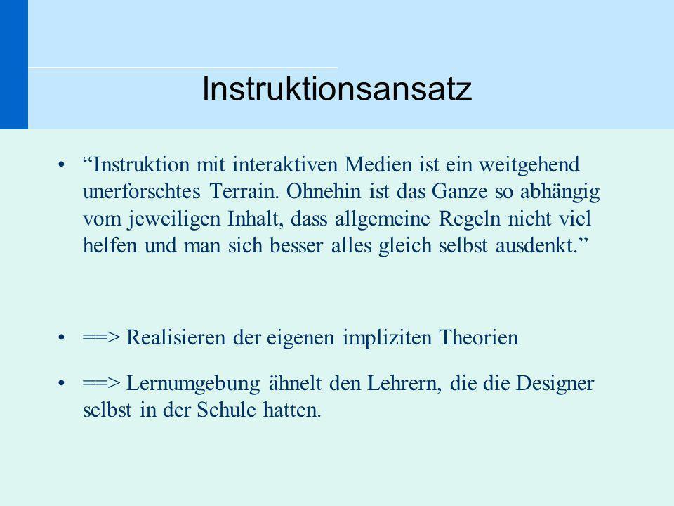 Instruktionsansatz