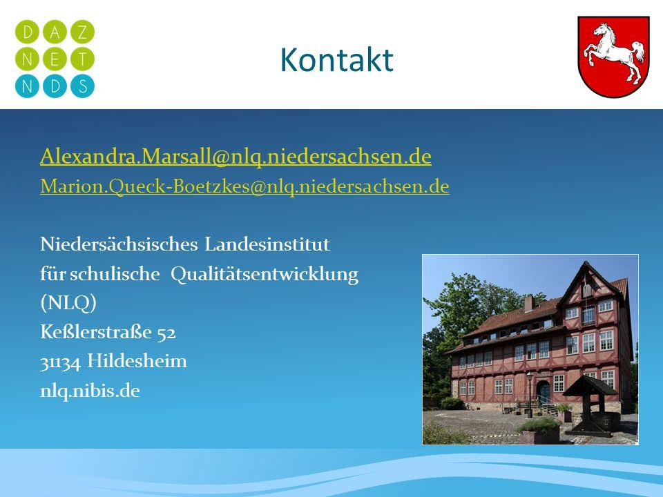 Kontakt Alexandra.Marsall@nlq.niedersachsen.de