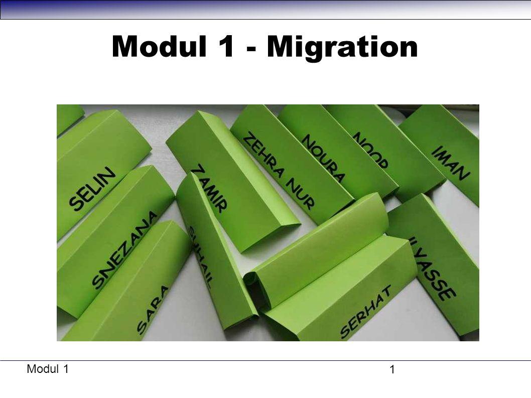 Modul 1 - Migration Modul 1