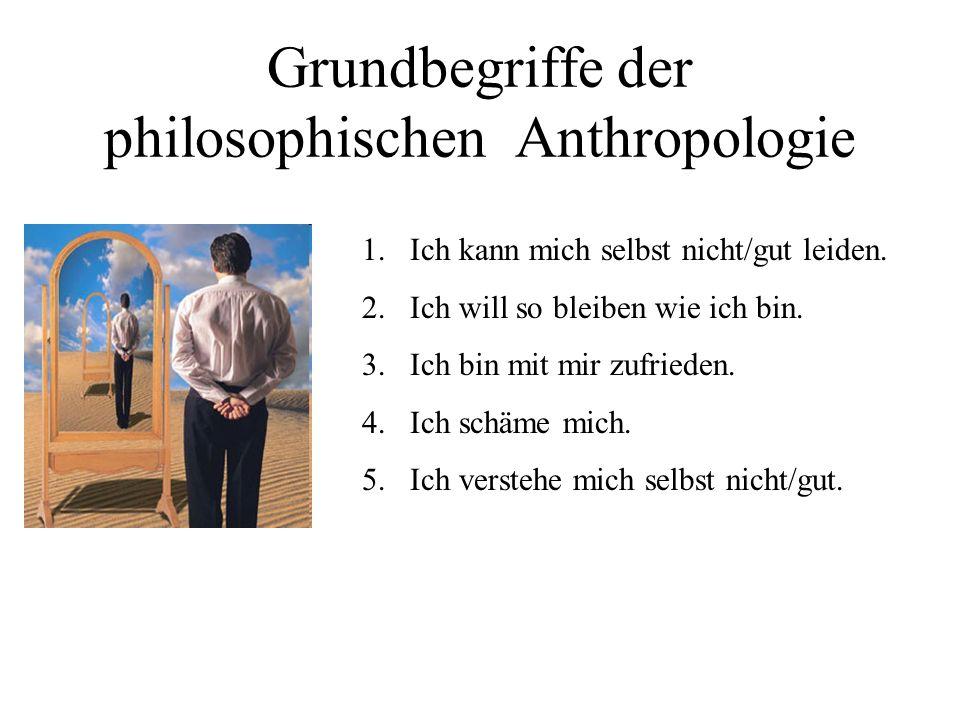 Grundbegriffe der philosophischen Anthropologie