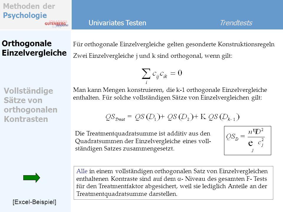 Vollständige Sätze von orthogonalen