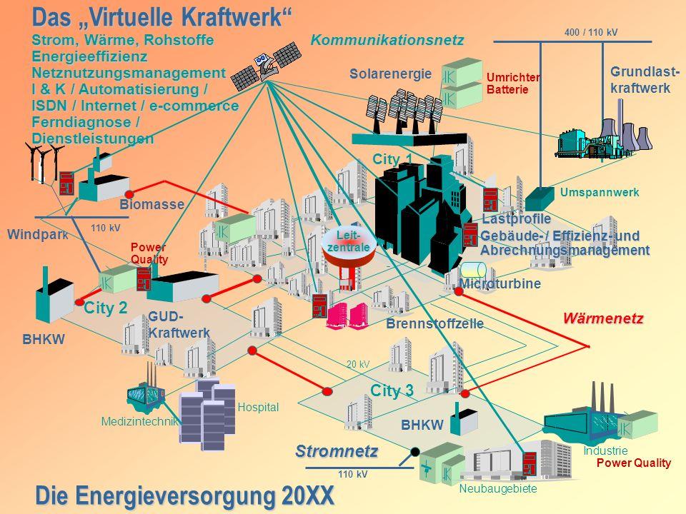 Die Energieversorgung 20XX