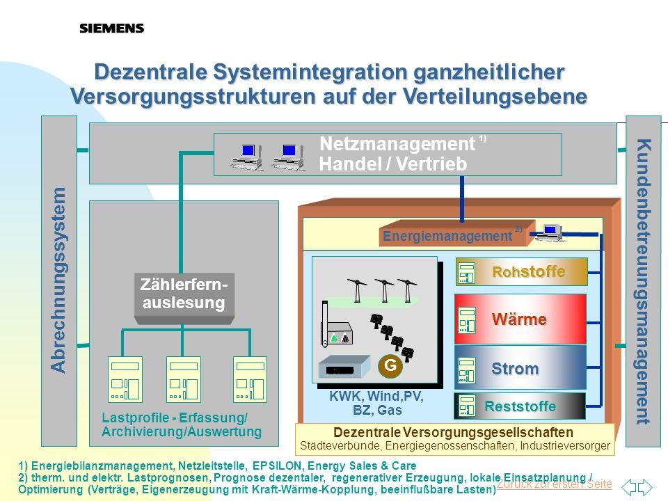 Dezentrale Systemintegration ganzheitlicher