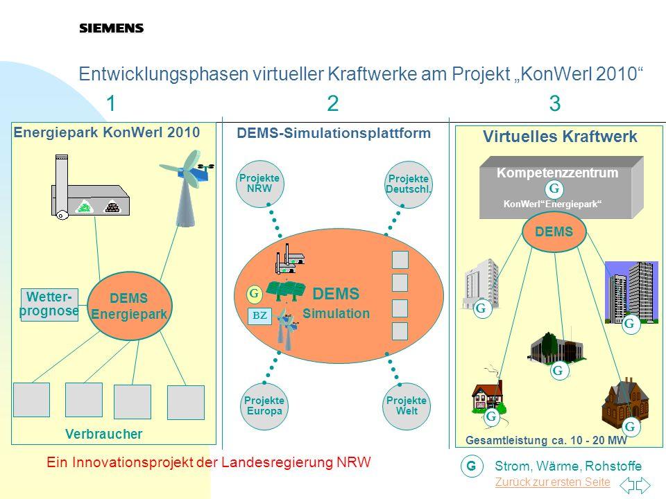 DEMS-Simulationsplattform KonWerl Energiepark