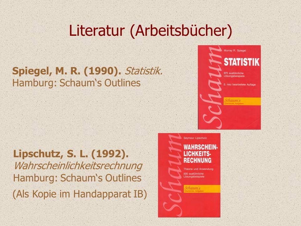 Literatur (Arbeitsbücher)