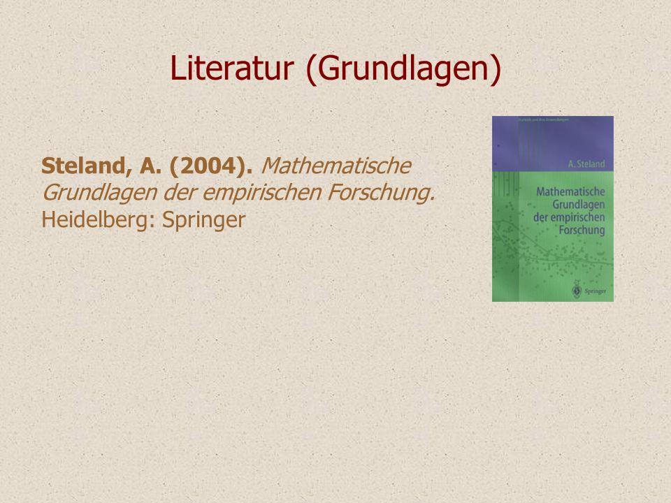 Literatur (Grundlagen)