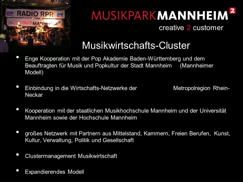 Musikwirtschafts-Cluster