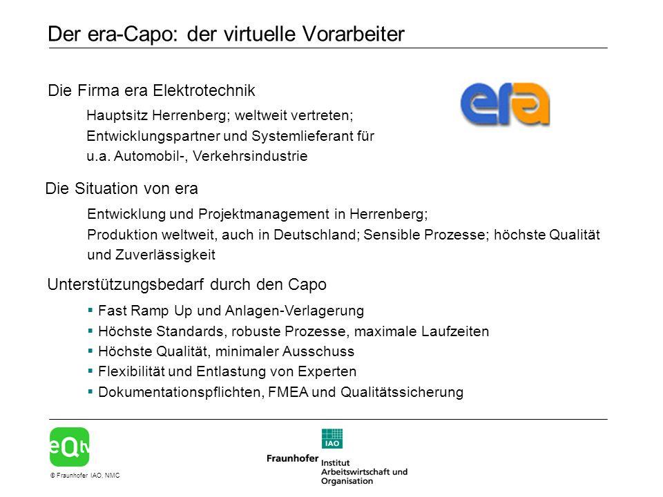 Der era-Capo: der virtuelle Vorarbeiter
