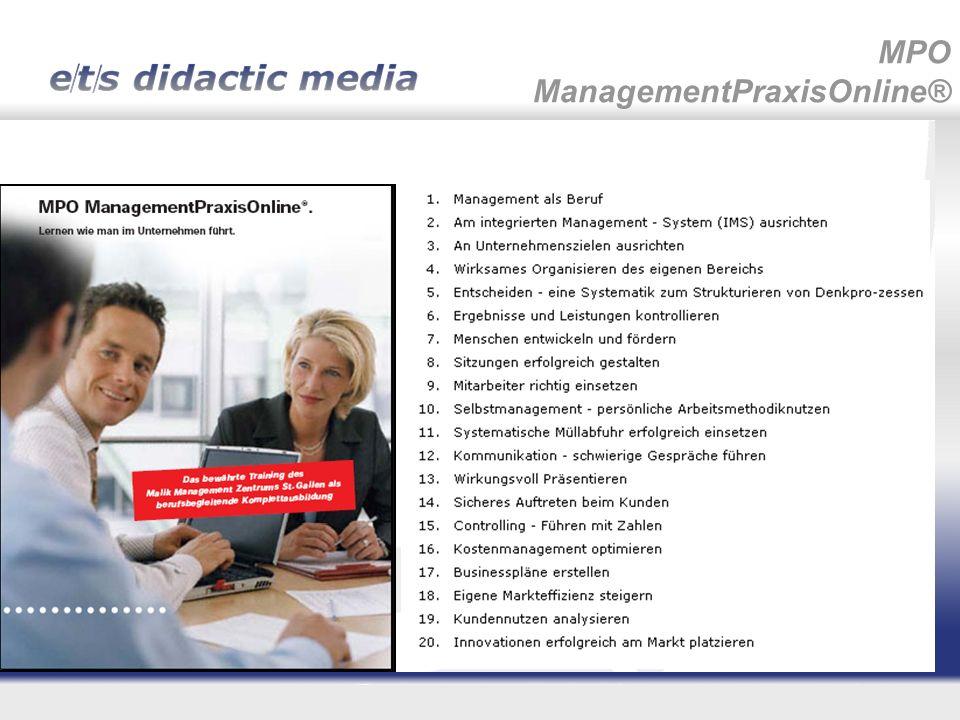 MPO ManagementPraxisOnline®