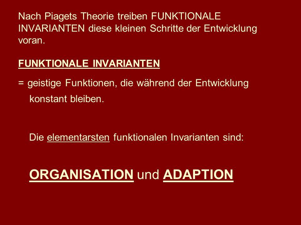 Die elementarsten funktionalen Invarianten sind: