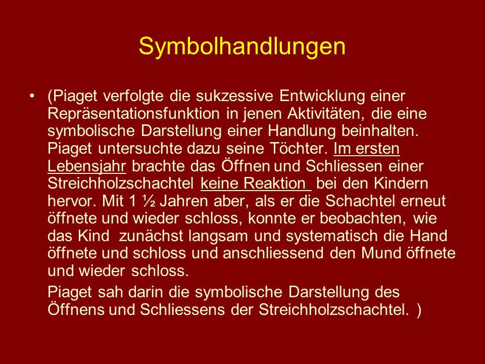 Symbolhandlungen