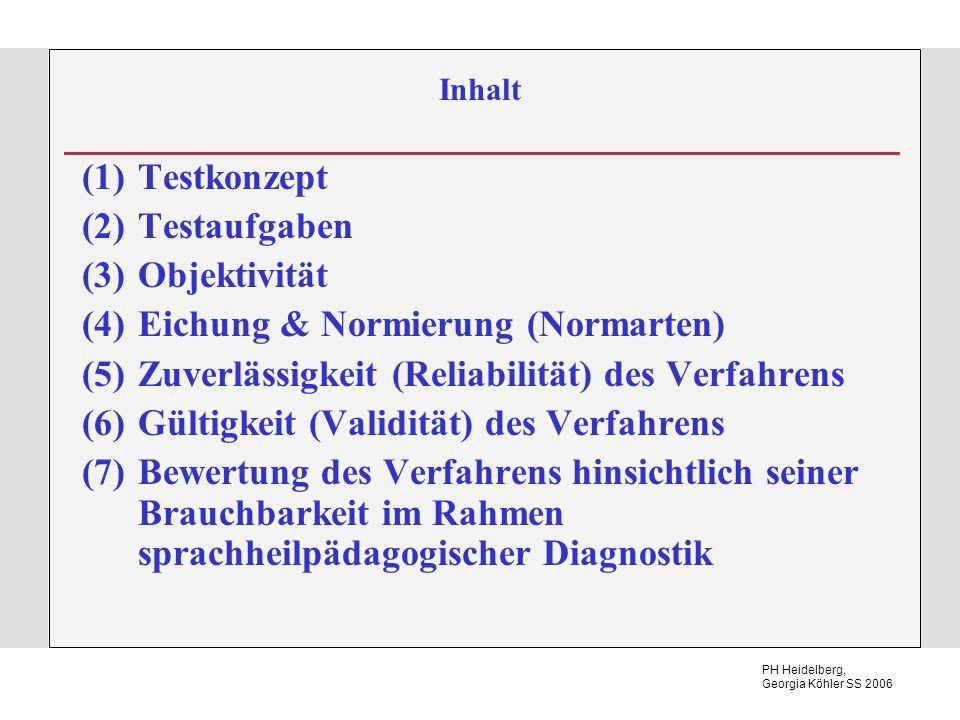 Eichung & Normierung (Normarten)