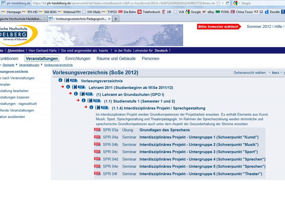 19. Januar 2012 Pädagogische Hochschule Heidelberg