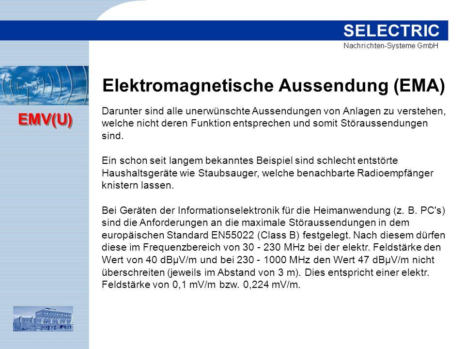 Elektromagnetische Aussendung (EMA)