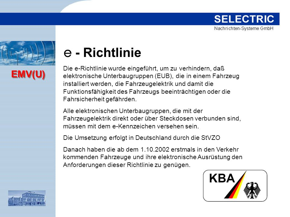 e - Richtlinie