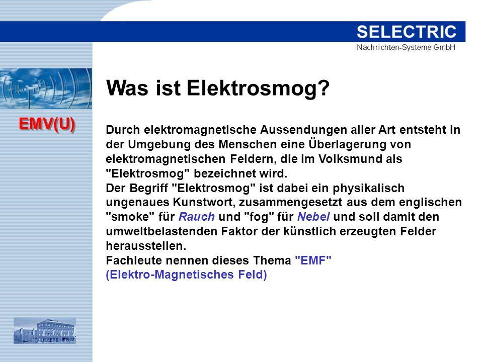 Was ist Elektrosmog