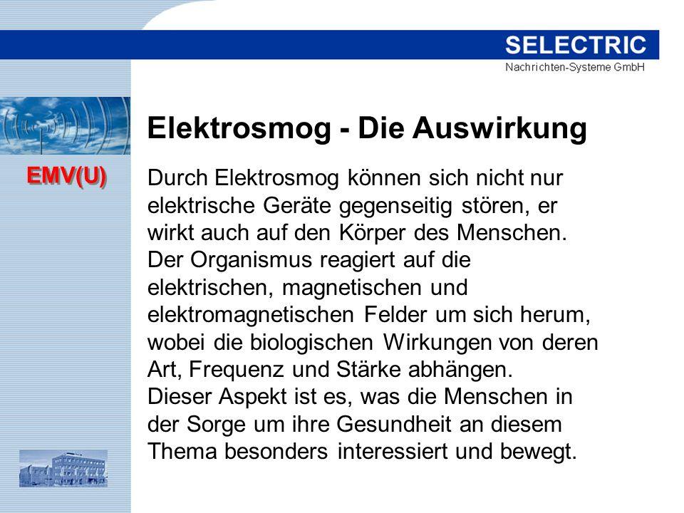 Elektrosmog - Die Auswirkung