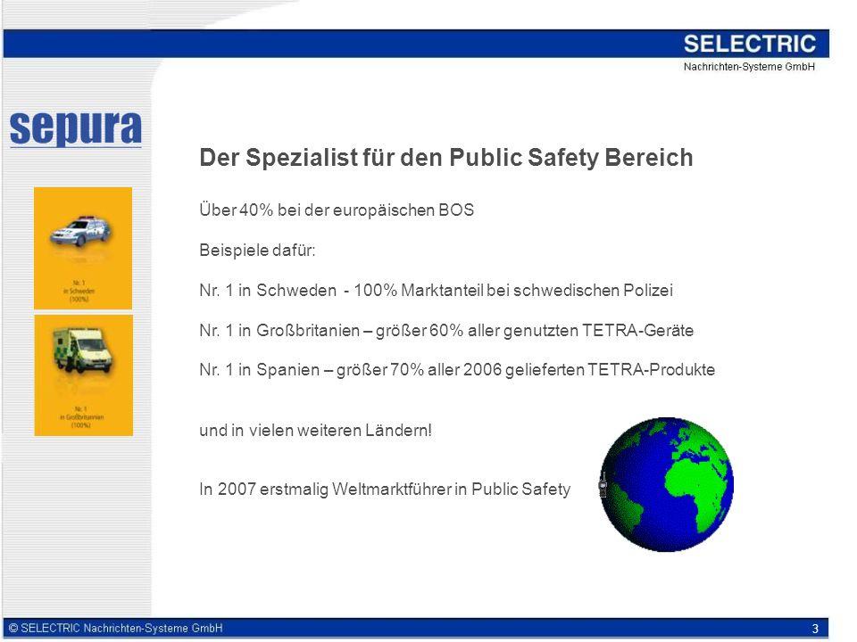 Der Spezialist für den Public Safety Bereich
