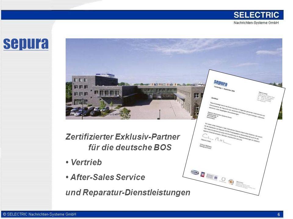Zertifizierter Exklusiv-Partner für die deutsche BOS