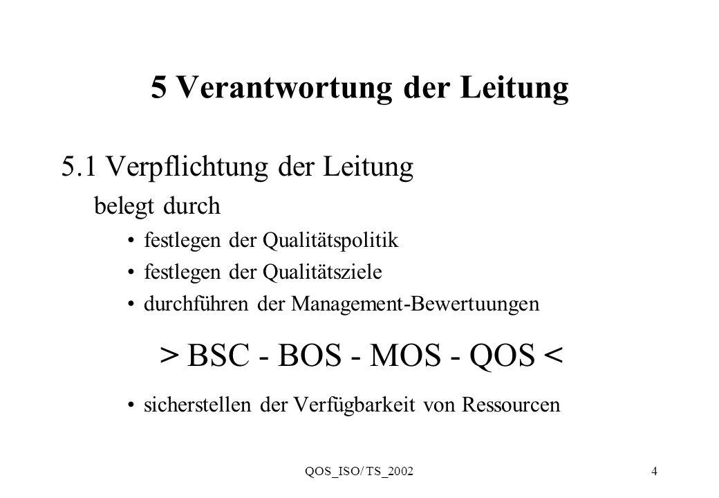 5 Verantwortung der Leitung