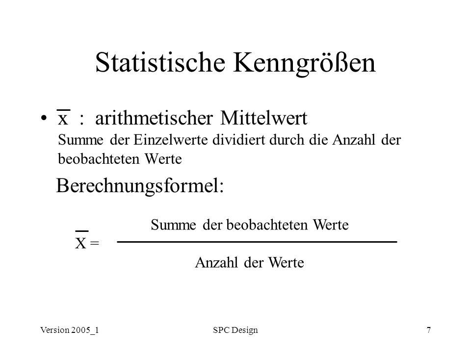 Statistische Kenngrößen