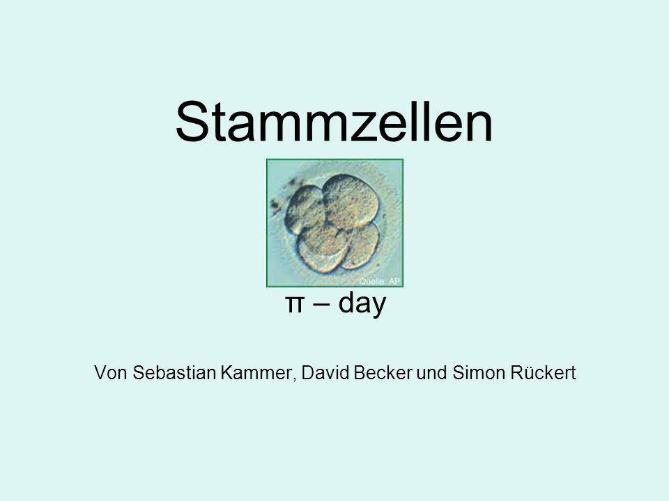 π – day Von Sebastian Kammer, David Becker und Simon Rückert