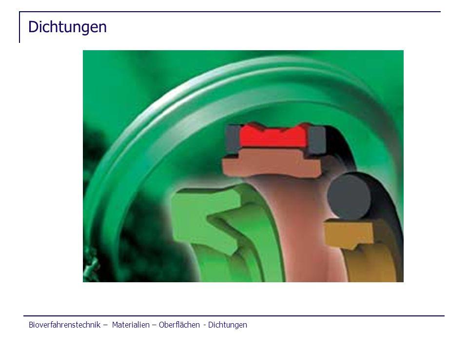 Dichtungen Bioverfahrenstechnik – Materialien – Oberflächen - Dichtungen