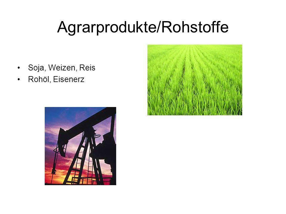 Agrarprodukte/Rohstoffe