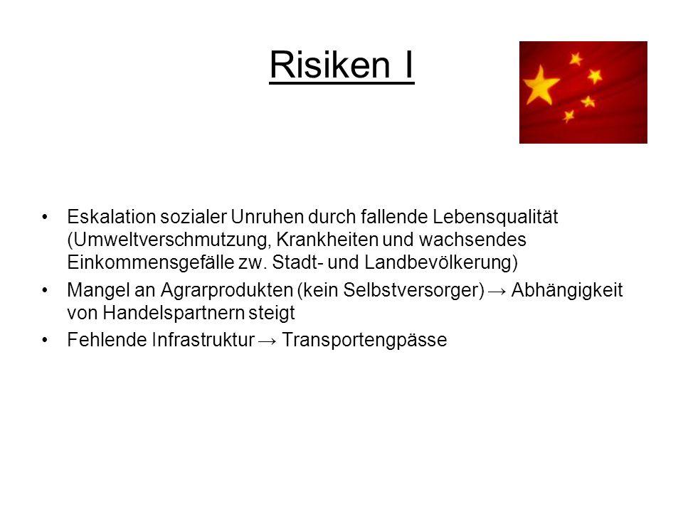 Risiken I